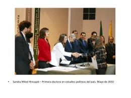 Presentación de PowerPoint - Universidad Externado de Colombia