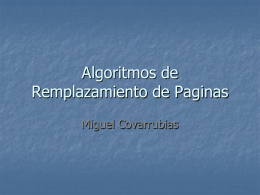 PageReplacementAlgorithms