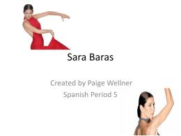 Sara Baras - profepickett