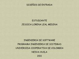 DISEÑO DE ENTRADA