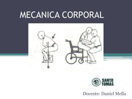 MECANICA CORPORAL.