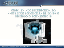Arquitectura Empresarial y transformación organizacional
