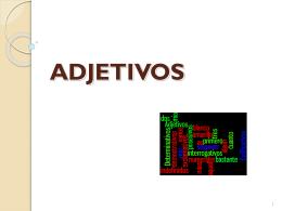 ADJETIVOS - CCI TWI
