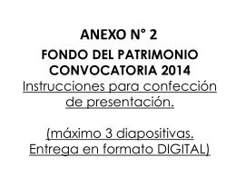 Anexo 2: Instrucciones confección de presentación