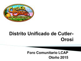 Distrito Unificado de Cutler-Orosi - Cutler