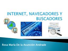 INTERNET, NAVEGADORES Y BUSCADORES - Inevimar-tec