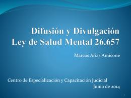 Divulgacion ley Salud Mental