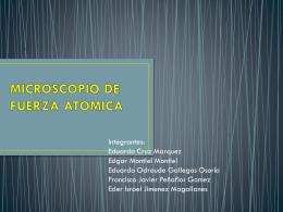 MICROSCOPIO DE FUERZA ATOMICA - ciencia
