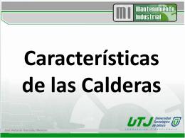 Características de las Calderas