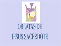 Oblatas de Jesús Sacerdote