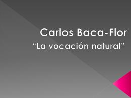 8 Carlos Baca Flor