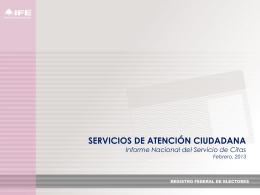 Registro Federal de Electores - Instituto Nacional Electoral