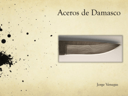Aceros de Damasco