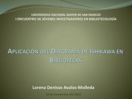 Aplicación del diagrama de Ichikawa en las bibliotecas universitarias