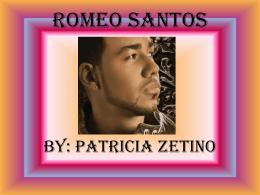 Romeo Santos - Patricia Zetino