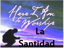 Santidad - VidaNueva-com
