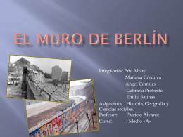 Muro de Berlín - Patricio Alvarez Silva