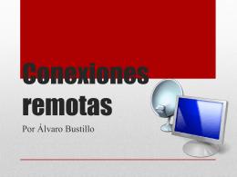 Conexiones remotas - TICO