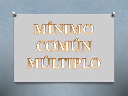 MÍNIMO COMÚN MÚLTIPLO webnode (841770)