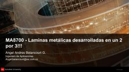 Lamina metálica
