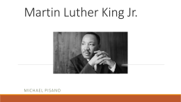 Martin Luther King Jr. - Michael Pisano