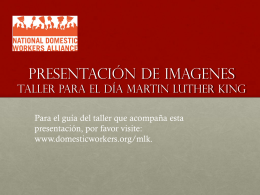 martin luther king day workshop presentation