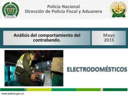Boletín Electrodomésticos Mayo 2015