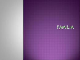 Familia - lacasaespanola