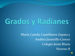 Grados y Radianes