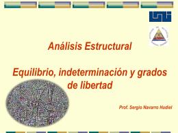 grados de libertad - Máster Sergio J. Navarro Hudiel
