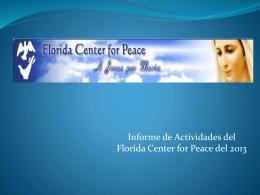 Mensaje Reina de la Paz