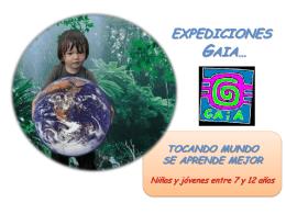 Expedición - wikigaiaexpediciones