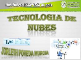 TECNOLOGIA DE NUBES
