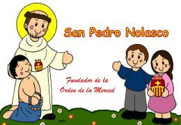 Historia de San Pedro Nolasco para niños