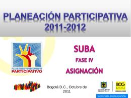 Diapositiva 1 - Educación Bogotá