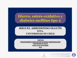 Hierro, estrés oxidativo y diabetes mellitus tipo 2