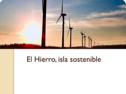 El Hierro, isla sostenible