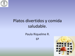 Platos divertidos paula riquelme 138KB Oct 30 2014 03:20:30 PM