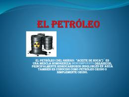 el petroleo