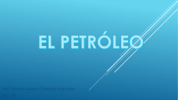 EL PETRÓLEO - ELECTROTECNIA CEB