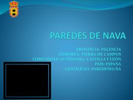 Paredes de nava - Concurso Día de Castilla y León en clase