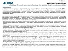 CV Luis Paredes