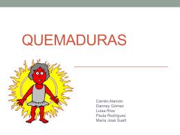 QUEMADURAS - Sí a Mis Derechos