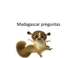 Madagascar preguntas