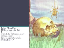 El escarabajo de oro sintetizado