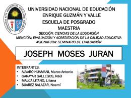 JOSEP JURAN GRUPO1 - Promoción 2013