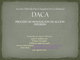 DACA - Education and Leadership Foundation