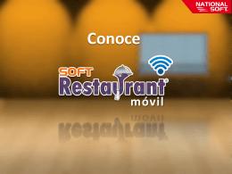 Presentación Soft Restaurant ® Móvil