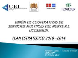 unión de cooperativas de servicios multiples del norte rl ucosemun.