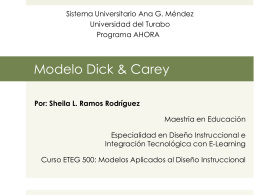 Modelo Dick & Carey